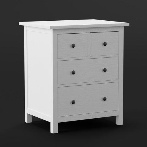 Thumbnail: IKEA Dresser Hemnes White
