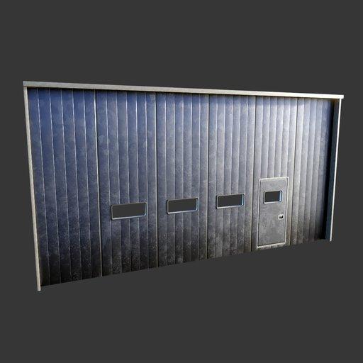 Warehouse Main Door