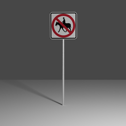 Thumbnail: No equestrian crossing
