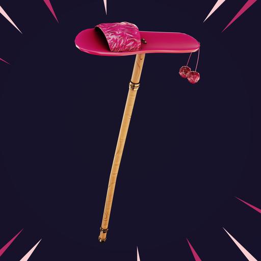 Thumbnail: Stylized pickaxe