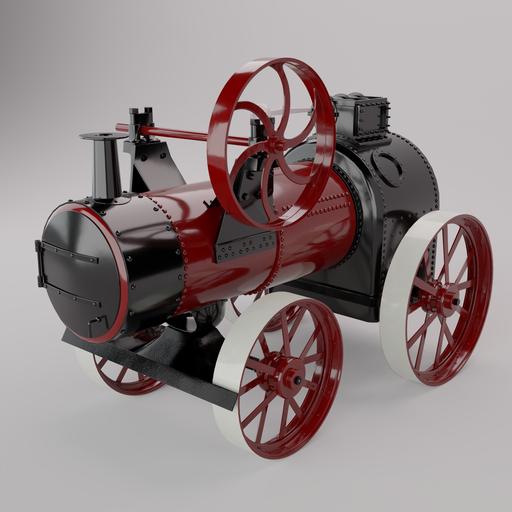18th Century Steam Tractor