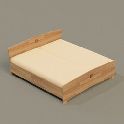 Thumbnail: Wooden bed