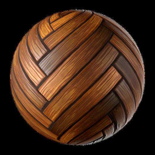 Stylized Wooden Board