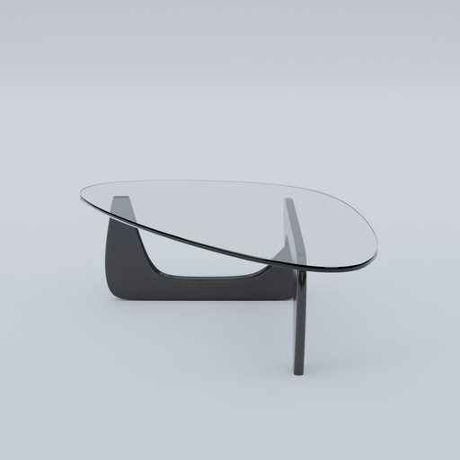 Thumbnail: Glass coffe table