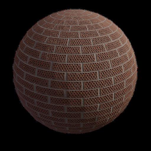Thumbnail: Brick wal diamond hole