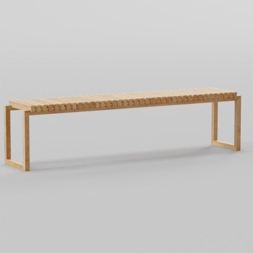 Thumbnail: Wood Cutter Bench 198x38x46