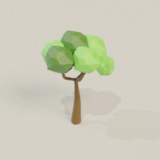 Thumbnail: Low poly tree