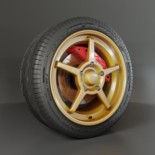 Thumbnail: OZ Racing Wheel