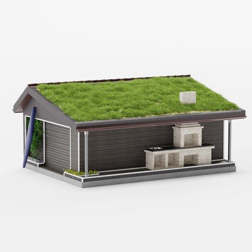 Garage or boat shed