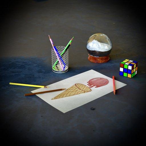 Thumbnail: Kidsroom Decoration Set