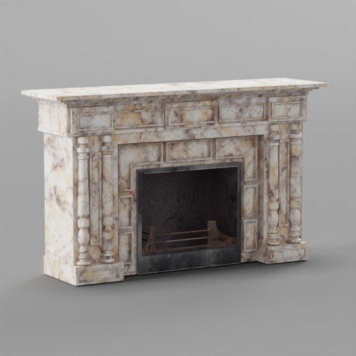 Thumbnail: Fireplace 1860