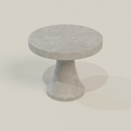Thumbnail: Concrete table