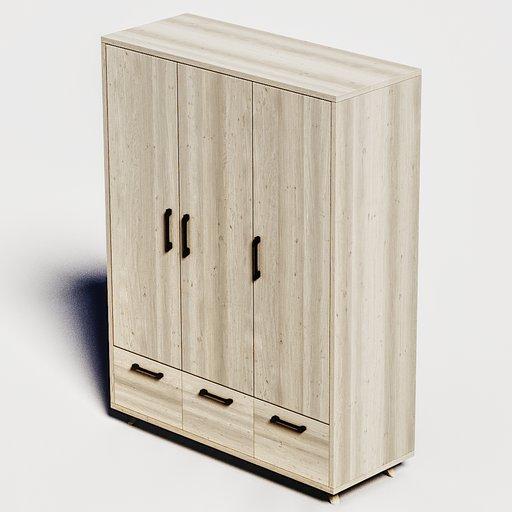 Thumbnail: Oak wardrobe