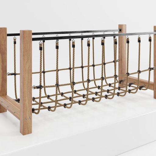 Thumbnail: Playground wooden bridge