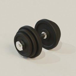 Thumbnail: Gym dumbell rod