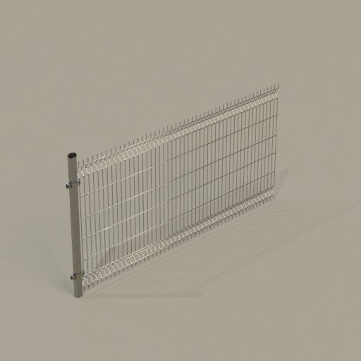 Thumbnail: Rigid panel fence