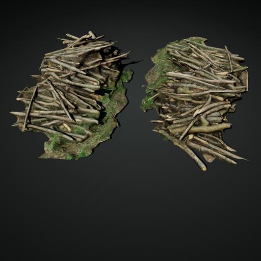 Pile of Logs 03