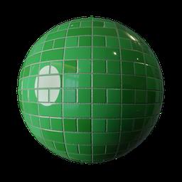 Thumbnail: Green tiles variation