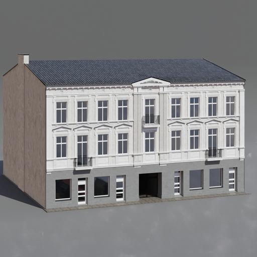 Townhouse building
