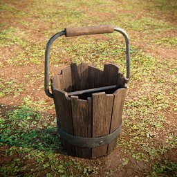 Thumbnail: Old Rustic Bucket