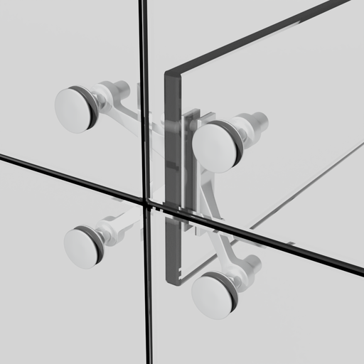 Thumbnail: Curtain Wall Spider Fitting Type 5