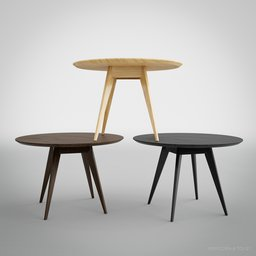 Thumbnail: Risom Dining Table