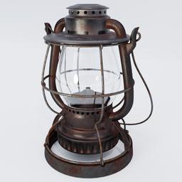 Thumbnail: Old Oil Lamp