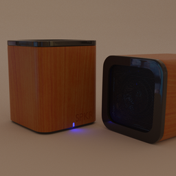 Thumbnail: Bluetooth Speaker-Wood