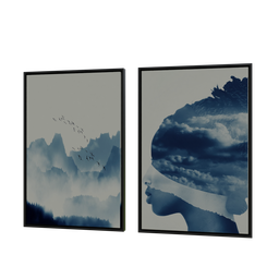 Thumbnail: Abstract and geometric frames