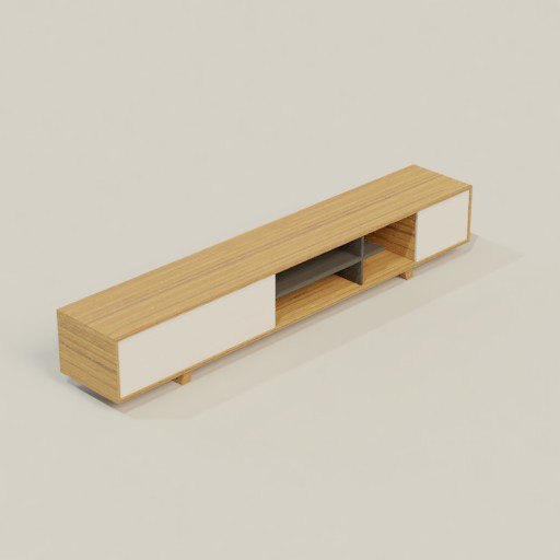 Thumbnail: Cabinet Storage Cupboard 300 x 51 x 50