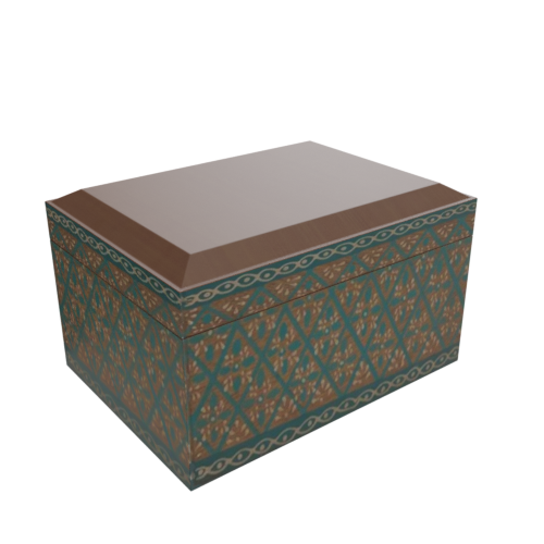 Thumbnail: Winter Boho decorative box