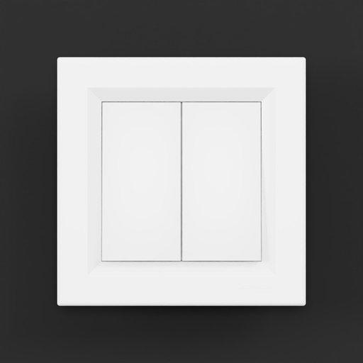 Thumbnail: Wall Switch Schneider Asfora Double
