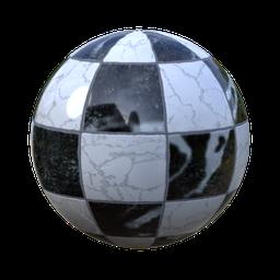 Thumbnail: checker marble tiles