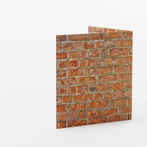 Wall corner 1x1x1