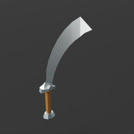 Thumbnail: Low Poly Sword