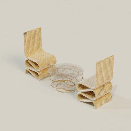 Thumbnail: Spiral chair