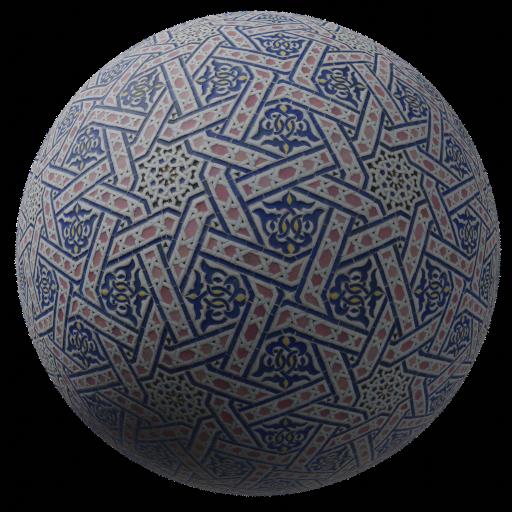 Thumbnail: Tiles colorful ornamental