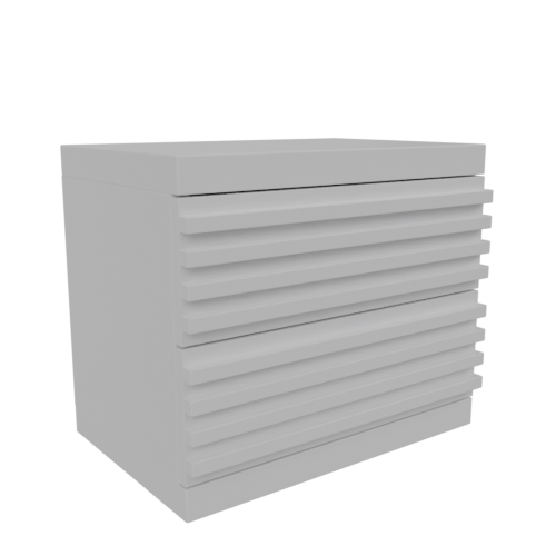 Thumbnail: Nightstand white lacquer