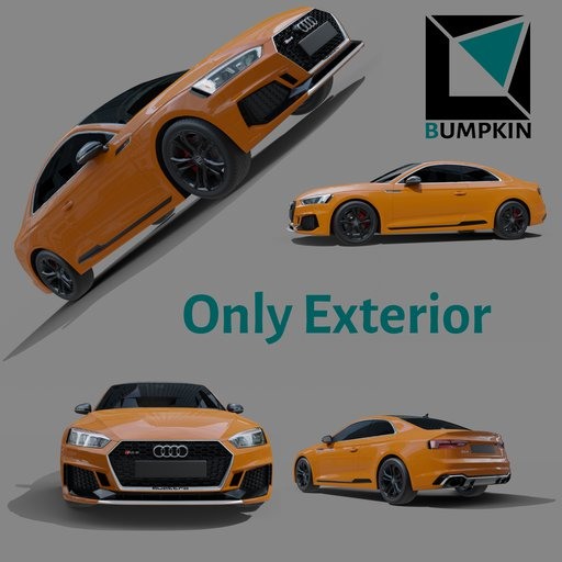 Thumbnail: Audi RS5 2018 only exterior