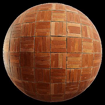 Thumbnail: Basketweave Patterned Bricks