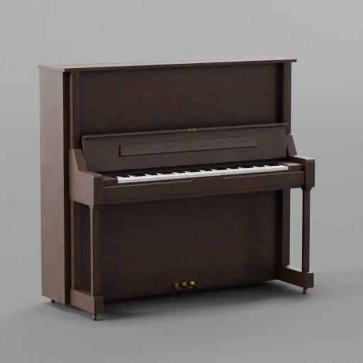 Thumbnail: Wooden Piano