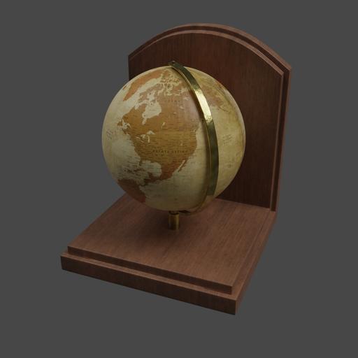 Thumbnail: Vintage Globe