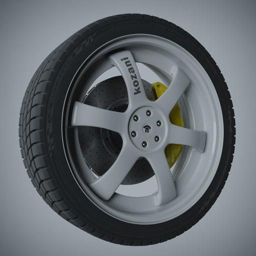 Thumbnail: Kozani Wheel 6 Spokes PL
