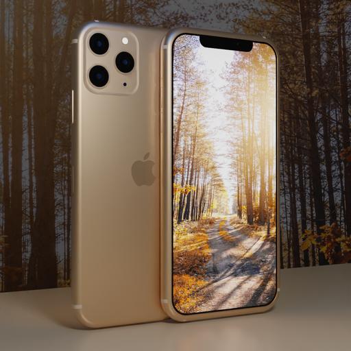 Thumbnail: Iphone 11 Pro Max (light salmon)