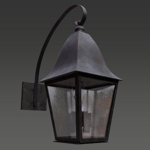 Thumbnail: Wall Lantern Sconce