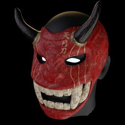 Thumbnail: Samurai mask