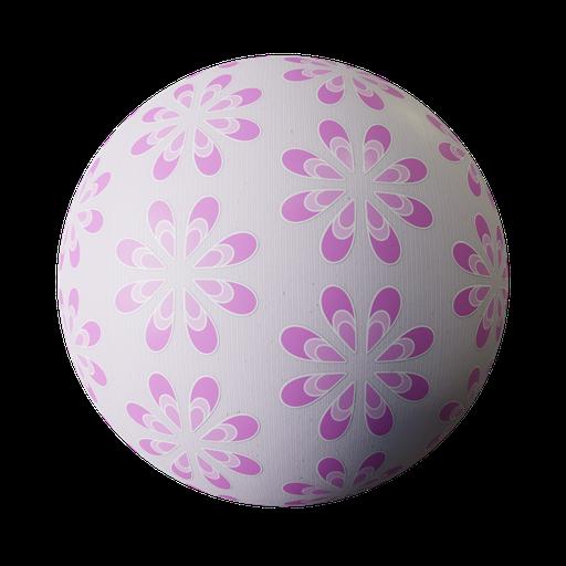 Thumbnail: Wallpaper-pink pattern