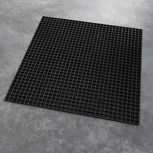 Thumbnail: Metal Grid 1x1m
