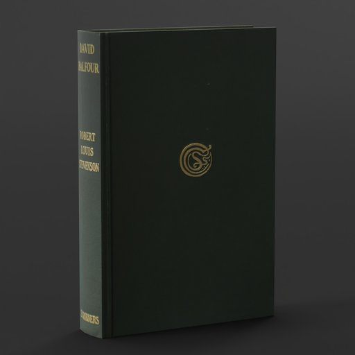 Thumbnail: Old Book: David Balfour