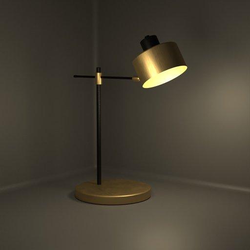 Thumbnail: Minimalist Copper Table Lamp